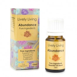 Lively Living Essential Oil Blend - Abundance 10ml