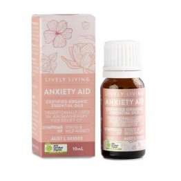 Lively Living Essential Oil Blend - Anxiety Aid 10ml