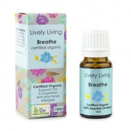 Lively Living Essential Oil Blend - Breathe 10ml