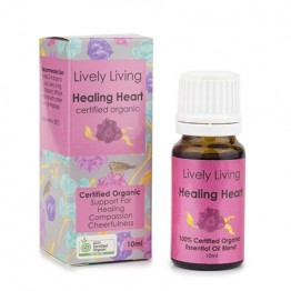 Lively Living Essential Oil Blend - Healing Heart 10ml