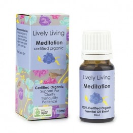 Lively Living Essential Oil Blend - Meditation 10ml