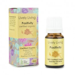 Lively Living Essential Oil Blend - Positivity 10ml