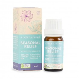 Lively Living Essential Oil Blend - Seasonal Relief 10ml