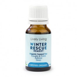Lively Living Essential Oil Blend - Winter Rescue Remedy 15ml