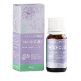 Lively Living Essential Oil - Patchouli 10ml