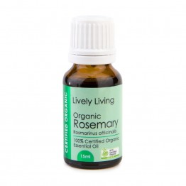 Lively Living Organic Rosemary Essential Oil 15ml