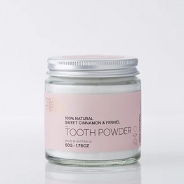 Love Beauty Foods Natural Tooth Powder 50g - Sweet Cinnamon & Fennel