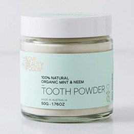 Love Beauty Foods Natural Tooth Powder 50g - Mint & Neem
