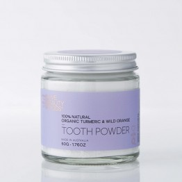 Love Beauty Foods Natural Tooth Powder 50g - Organic Turmeric & Wild Orange