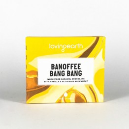 Loving Earth Pocket 45's Chocolate Bar - Banoffee Bang Bang - 45g