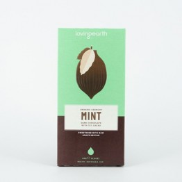 Loving Earth Raw Organic Chocolate - Crunchy Mint 80g