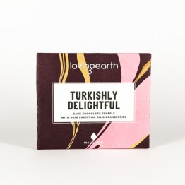 Loving Earth Pocket 45's Chocolate Bar - Turkishly Delightful - 45g