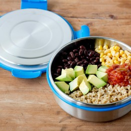 Lunchbots Stainless Steel Salad Bowl / Lunch Box - 3 cup / 750ml