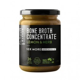 Meadow & Marrow Bone Broth Concentrate 26 serves - Lemon & Herb