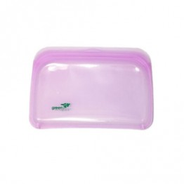 Green Essentials Reusable Silicone Food Pouch - Medium Purple