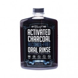 My Magic Mud Charcoal Alcohol-Free Oral Rinse - 420ml Classic Mint