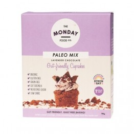 Monday Food Co Paleo Cupcake Mix - Lavender Chocolate 300g