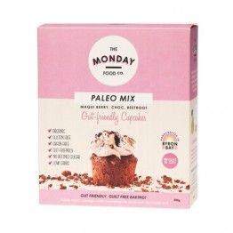Monday Food Co Paleo Cupcake Mix - Maqui Berry + Choc + Beetroot 300g