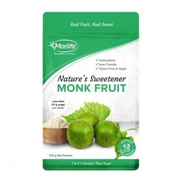 Morlife Certified Organic Monkfruit - 100g