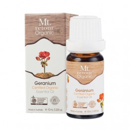 Mt Retour Certified Organic Essential Oil - Geranium 10ml