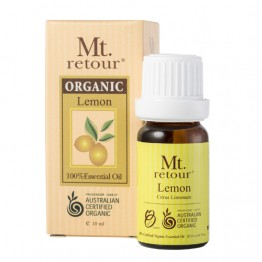 Mt Retour Certified Organic Essential Oil - Lemon 10ml