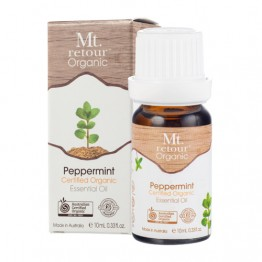 Mt Retour Certified Organic Essential Oil - Peppermint 10ml