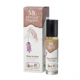 Mt Retour Organic Essential Oil Blend - 10ml roll-on - Stress Soother