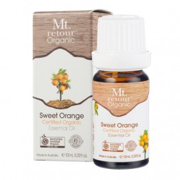 Mt Retour Certified Organic Essential Oil - Sweet Orange 10ml