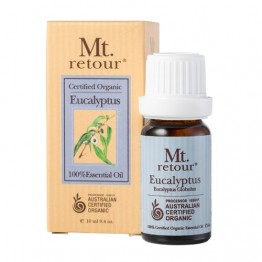 Mt Retour Certified Organic Essential Oil - Eucalyptus 10ml