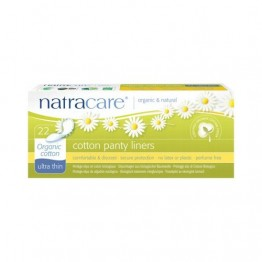 Natracare Certified Organic Cotton Panty Liners - Ultra Thin (22)