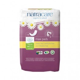 Natracare Certified Organic Cotton Maxi Pads - Regular (14)