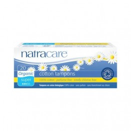 Natracare Certified Organic Cotton Tampons - Super (20)