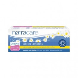 Natracare Certified Organic Cotton Tampons - Super Plus (20)