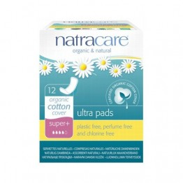 Natracare Certified Organic Cotton Ultra Pads - super plus (12)