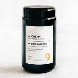Nourished + Nurtured Alchemy Supergreens - 200g in Miron Glass