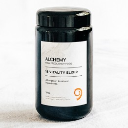 Nourished + Nurtured Alchemy Vitality Elixir - 150g in Miron Glass