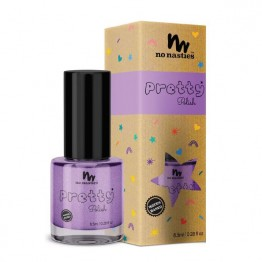 No Nasties Water Based Peelable Nail Polish - Purple