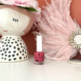 No Nasties Water Based Peelable Nail Polish - Bright Pink