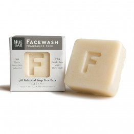 Nuebar Facewash Bar Fragrance Free - 45g
