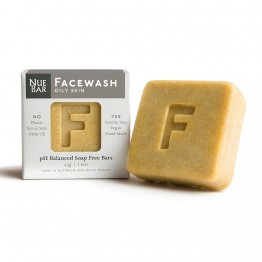 Nuebar Facewash Bar for Oily Skin - 45g