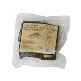 Nutritionist Choice Mushroom Brown Rice Instant Noodles - 60g