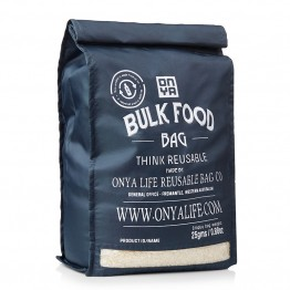 Onya Reusable Bulk Food Bag - Large Charcoal