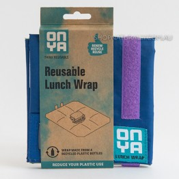 Onya Reusable Lunch Wrap - Indigo