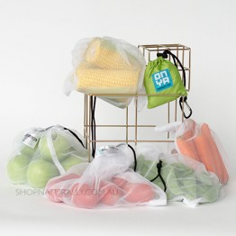 Onya Reusable Produce bags - 5 Pack Apple