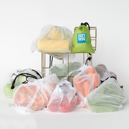 Onya Reusable Produce bags - 8 Pack Apple