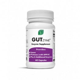 Organic 3 GutZyme Assist Enzyme Supplement