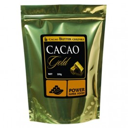 Power Super Foods Certified Organic Cacao Gold - Cacao Butter (chunks) 250g
