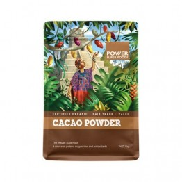 Power Super Foods Raw Organic Cacao Powder - 1kg