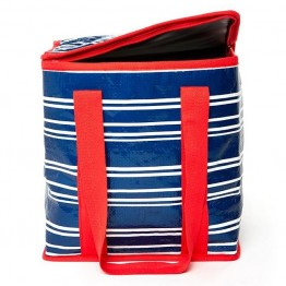 Project Ten Insulated Shopping Bag - Tea Towel Stripe