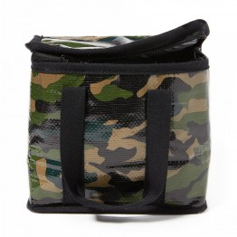 Project Ten Mini Cube Insulated Lunch Bag - Camo
